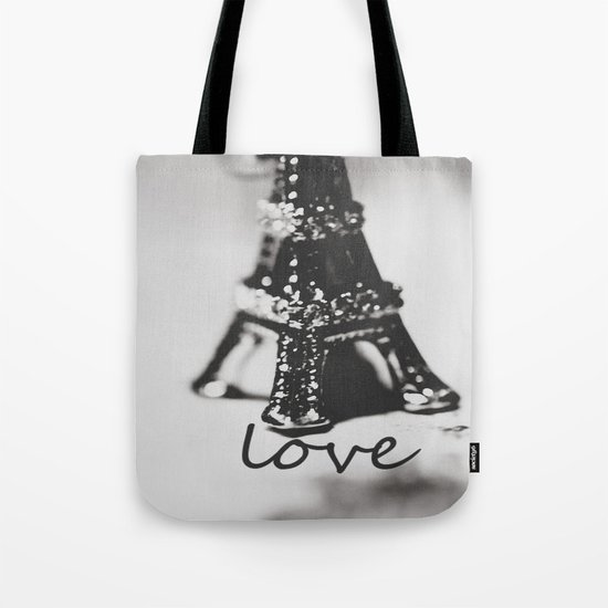 On my way to Love Tote Bag