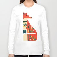 mid century Long Sleeve T-shirts featuring Century Fox by Picomodi