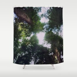 Look to the Highest Top Shower Curtain