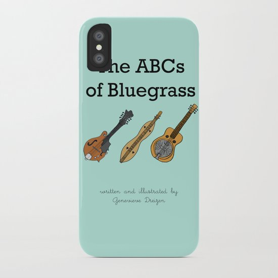The ABCs of Bluegrass iPhone Case