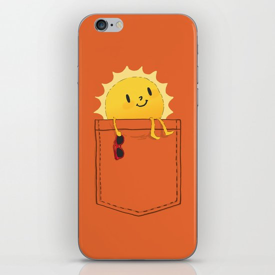 Pocketful of sunshine iPhone & iPod Skin