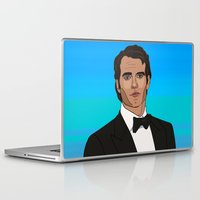 napoleon Laptop & iPad Skins featuring Napoleon Solo by Grace Teaney Art