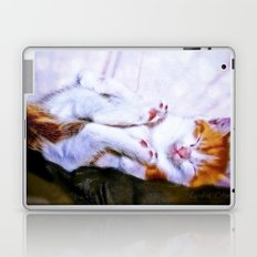 There are a thousand and one way to take a nap Laptop & iPad Skin