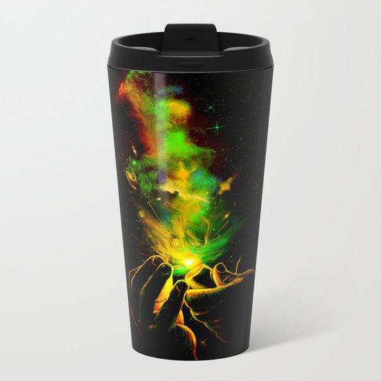 Light It Up! Metal Travel Mug
