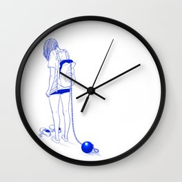 Baggage Wall Clock