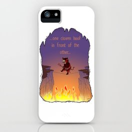 Cloven Hoof iPhone Case