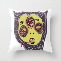 Gastric bypass DEMON face Throw Pillow
