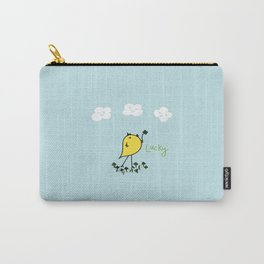 Chirp and Whistle Lucky Bird Carry-All Pouch