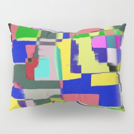 Raw Paint 3 - Colour Abstract Pillow Sham