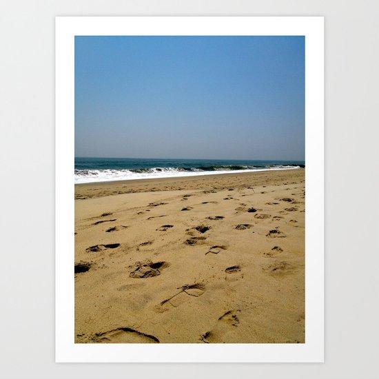 A Jersey Shore Art Print