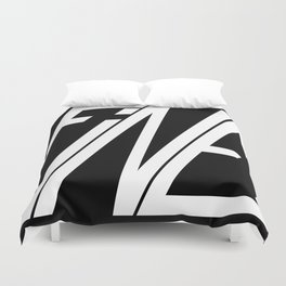 Fine, Be A Square Duvet Cover