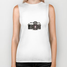 Nikon Camera Style Biker Tank