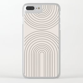 Arch Art Clear iPhone Case