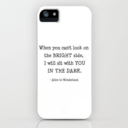 Alice in wonderland. iPhone Case