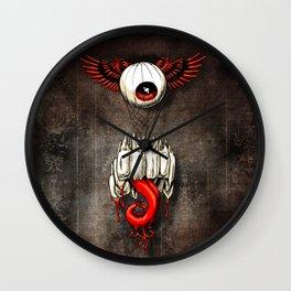 D'eyeridgible Wall Clock