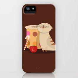 Coffee & Cat love iPhone Case