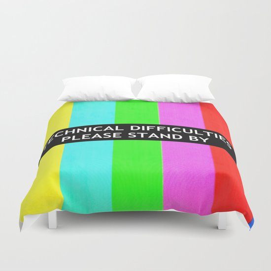 Technical Difficulties  Duvet Cover