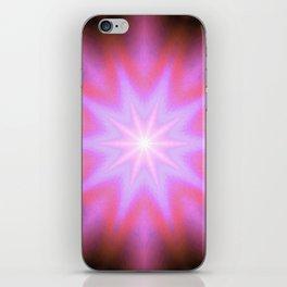 Shining Star Pink Mauve Lavender iPhone Skin