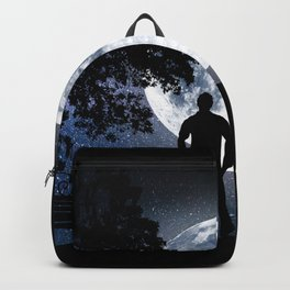 starry night_38 Backpack