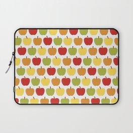 Apples Over White Laptop Sleeve