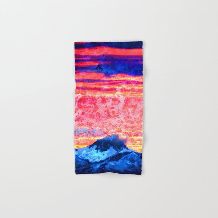 Turmoil on Mt. Jefferson Hand & Bath Towel