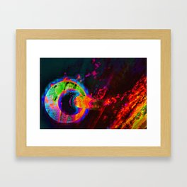 OutaHere Framed Art Print