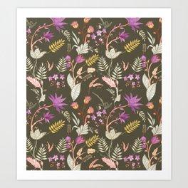 Tulum Art Print