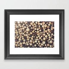 If I wood, wood you? Framed Art Print