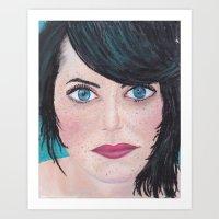 Jana Art Print