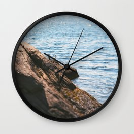 Opposing Views Wall Clock