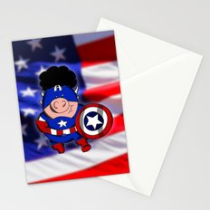 Cap'n 'Murica Stationery Cards