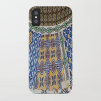 mexican iPhone & iPod Cases featuring Mexican Tiles by Renee Trudell