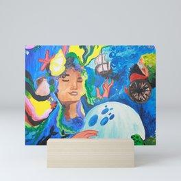 Ocean Gypsy Mini Art Print