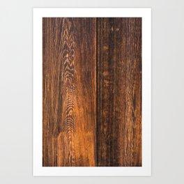 Old wood texture Art Print
