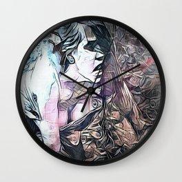 The Taking of Galatea Wall Clock