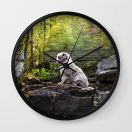 Rocky Hike Wall Clock