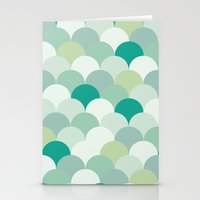 scales Stationery Cards featuring SCALES by Sarah Stark