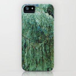 Let the Trees Speak iPhone Case