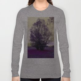 landscape in purple Long Sleeve T-shirt
