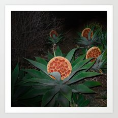 Pizza Plants Art Print