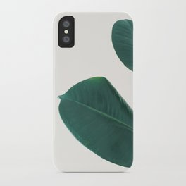 Rubber Fig Leaves I iPhone Case