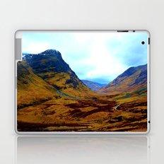Glencoe, Scottish Highlands, in the Autumn Laptop & iPad Skin