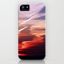Sunset Dance iPhone Case