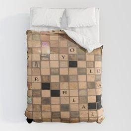 CROSSWORD LOVE Comforters