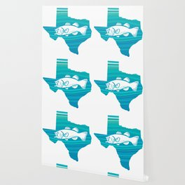 Texas Wave Fishing Wallpaper