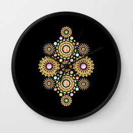 Sorbet Sunburst Wall Clock