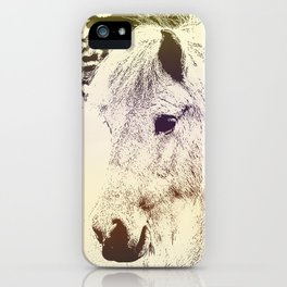 Colored Pony iPhone Case