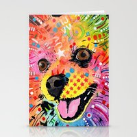 pomeranian Stationery Cards featuring Pomeranian dog by trevacristina