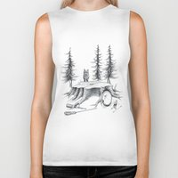 teen wolf Biker Tanks featuring Teen Wolf by runningwithhellhounds