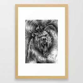 Bear Guardian Framed Art Print